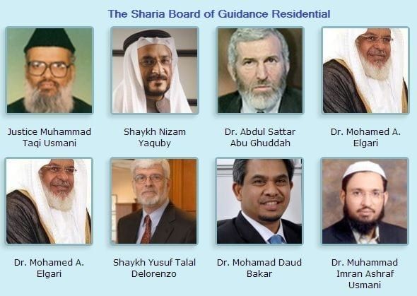 guidance residential sharia board