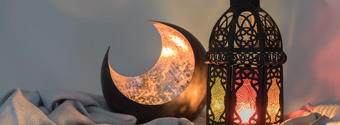 An image of a middle eastern lamp for the month of Ramadan - Ramadan Spirit