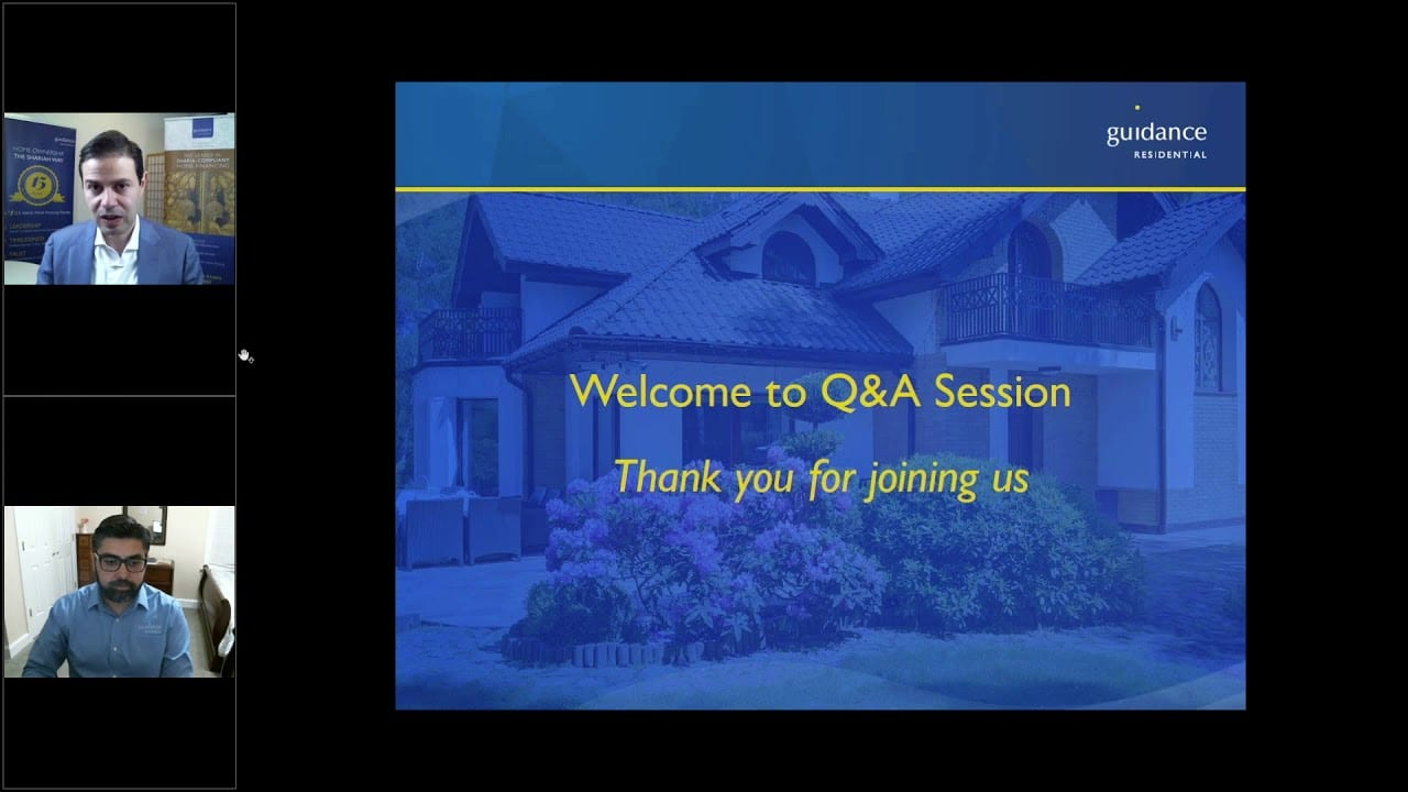 welcome to q&a slide