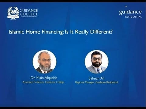 Islamic home financing differences
